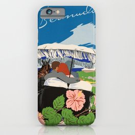 Romantic Bermuda travel iPhone Case
