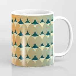 Retro ellipses Coffee Mug