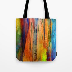 Ice Curtain 4 Tote Bag