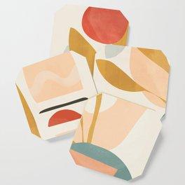 Abstract Shapes 20 Coaster