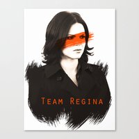regina mills Canvas Prints featuring Team Regina by Geek World