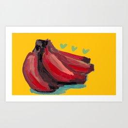 Red Cavendish Art Print