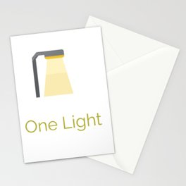 One more light Art Print Stationery Cards