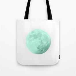 TEAL MOON Tote Bag