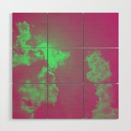 Radiant Clouds Wood Wall Art
