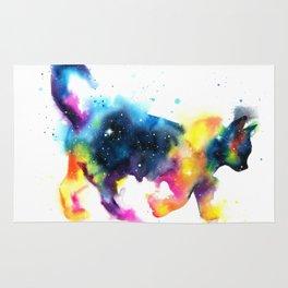 Cat galaxy Rug