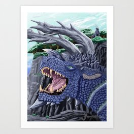 The Roar Art Print