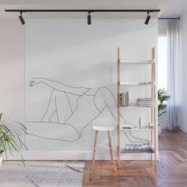 Swim fashion illustration - Xavia Wall Mural