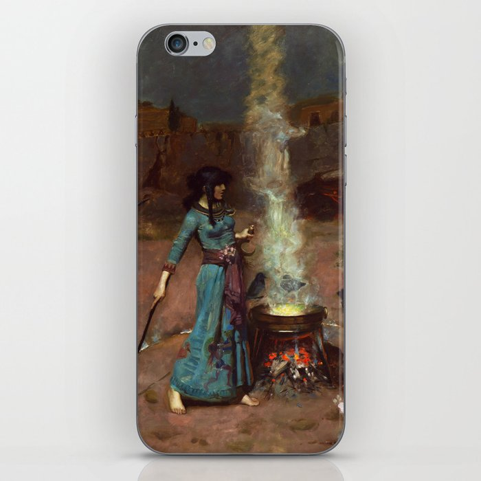 The Magic Circle John William Waterhouse Painting iPhone Skin