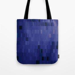 Blurple Blue Purple Digi Fractal Tote Bag