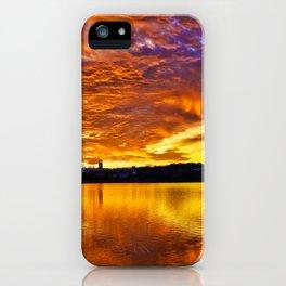 Burning Sky iPhone Case