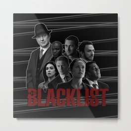 The Blacklist Metal Print