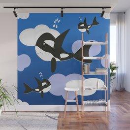 Orca Design Wall Mural
