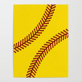 Fast Pitch Softball Poster