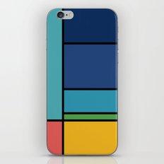 The Colors of / Mondrian Series - Ponyo- Miyazaki iPhone & iPod Skin