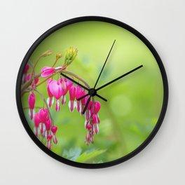 bleeding heart - Lamprocapnos spectabilis Wall Clock