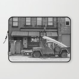 Sunny's Side of the Street Laptop Sleeve