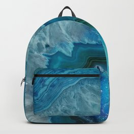 Agate Crystal Slice Backpack