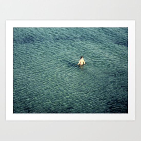 alone, but not lonely Art Print
