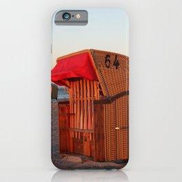 Strandkorb iPhone Case