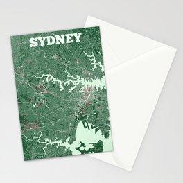 Sydney, Australia street map Stationery Cards