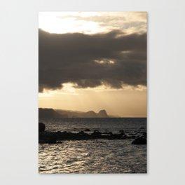 Maui Sunset Canvas Print
