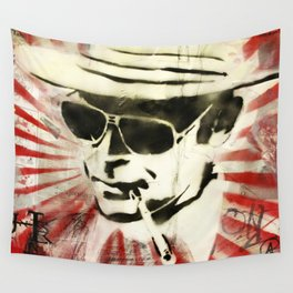 Hunter S Thompson Wall Tapestry