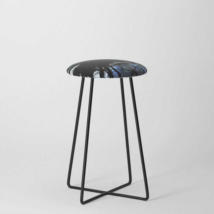 Treeflection VI Counter Stool