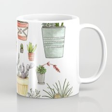 Potted Succulents Mug