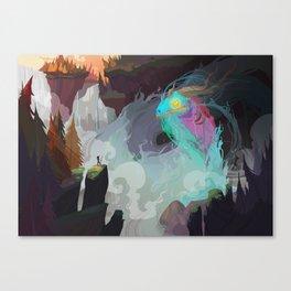 Water Demon Canvas Print