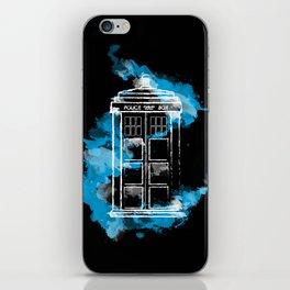 Watery TARDIS iPhone Skin