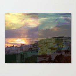 Albuferia Sunset Canvas Print