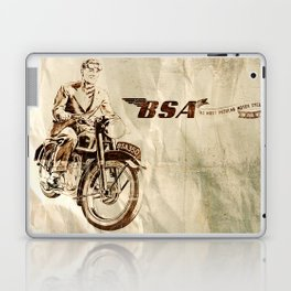 BSA - Vintage Poster Laptop & iPad Skin