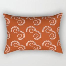 Bookworm Bitch Rectangular Pillow