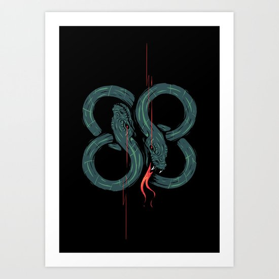 Eighty 8 Art Print