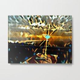 Bodensee Sunset Metal Print