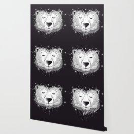 Dreaming Polar Bear Wallpaper
