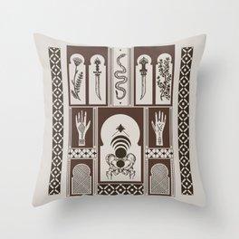 Moroccan Daggers Throw Pillow