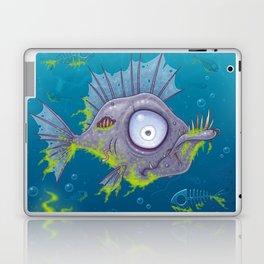 Zombie Fish Laptop & iPad Skin