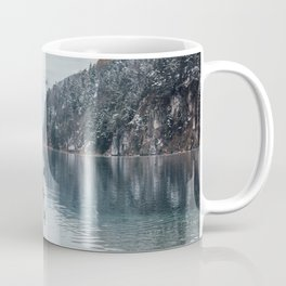 Couple of swans, Alpsee lake Coffee Mug