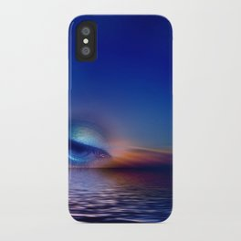 strange horizon iPhone Case