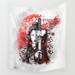 Katsumi - victorious beauty Wall Tapestry