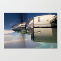mirror Canvas Prints featuring Mirror by Rafael Andres Badell Grau