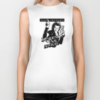 resident evil Biker Tanks featuring Milla Jovovich Resident Evil Afterlife by f3mal3s