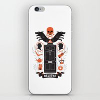 221b iPhone & iPod Skins featuring 221B by Wharton