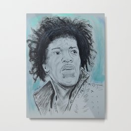 Jimmy Hendrix Metal Print