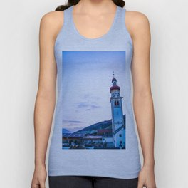 Church in the Alps Unisex Tank Top
