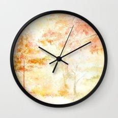 Memories of Autumn Wall Clock
