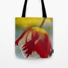 Multi-Color Tulip for a Mom Tote Bag