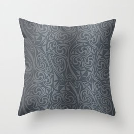 Celtic Warlord steel Throw Pillow